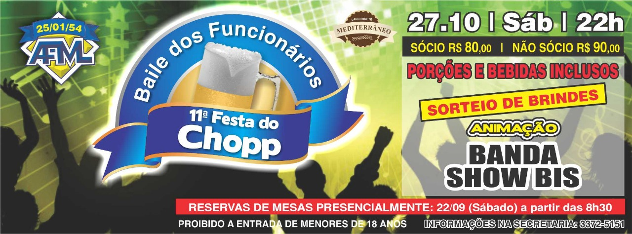 11ª Festa do Choop